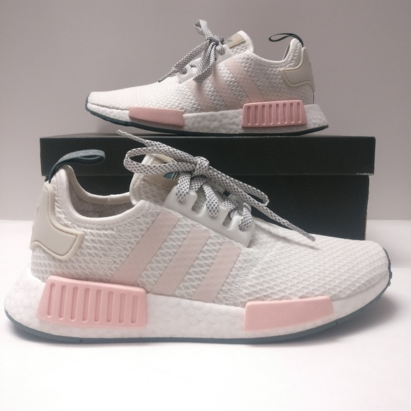 Womens Adidas Nmd R1 White Great Quality Fast Delivery Special